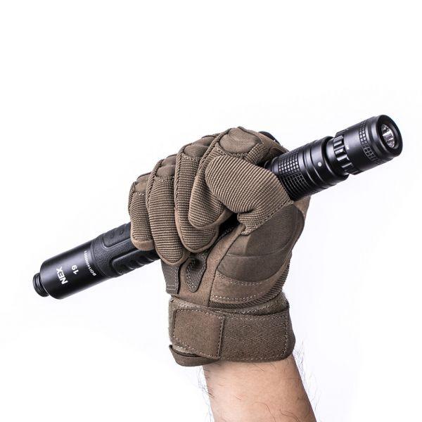 Телескопическая дубинка Nextorch NEX Wal Flashlight N19L 49 см